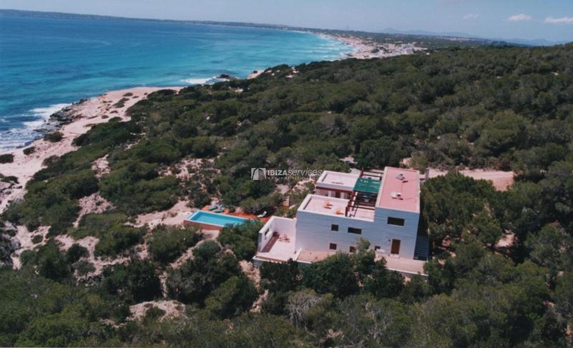 Villa for sale Formentera with amazing sea views perspectiva 49
