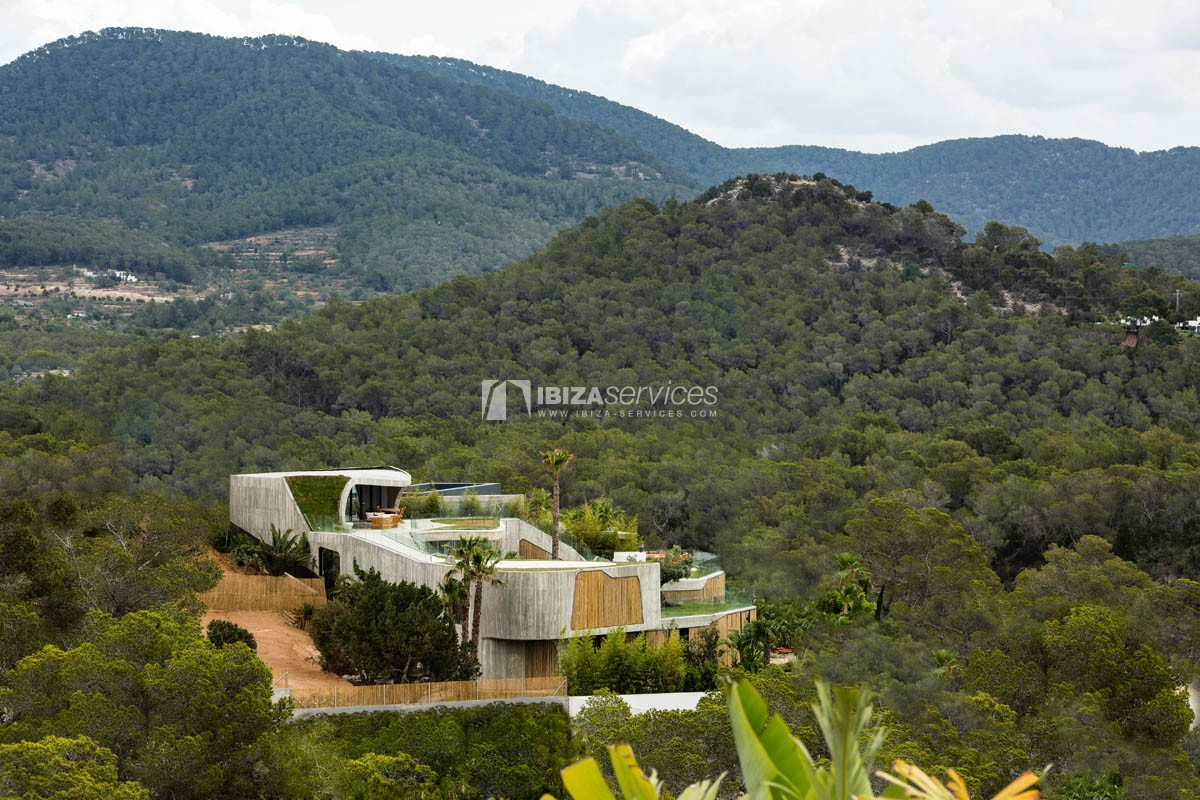 Amazing  design villa Es cubells for rent perspectiva 37