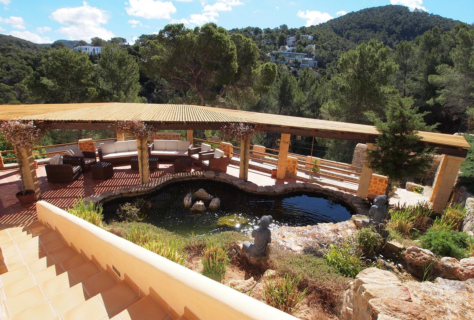 7 bedroom villa overlooking the sea Cala Moli