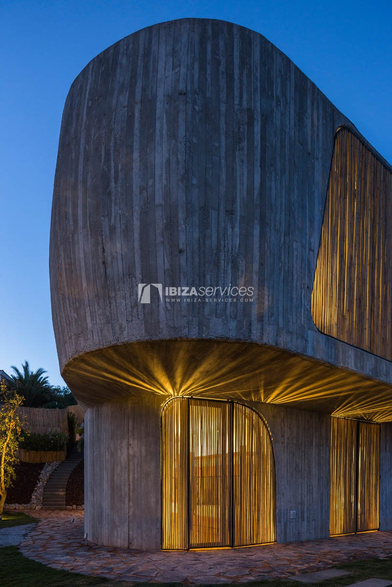 Amazing  design villa Es cubells for rent perspectiva 46