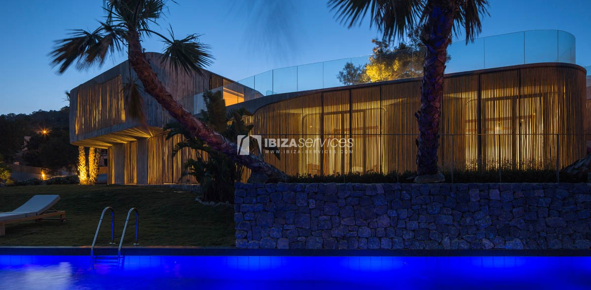 Amazing  design villa Es cubells for rent perspectiva 50
