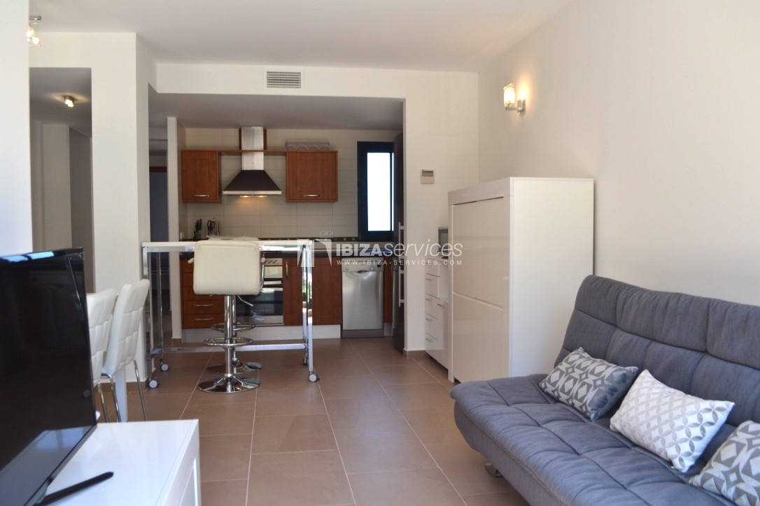Townhouse Cala Tarida 3 bedrooms with sea views perspectiva 8