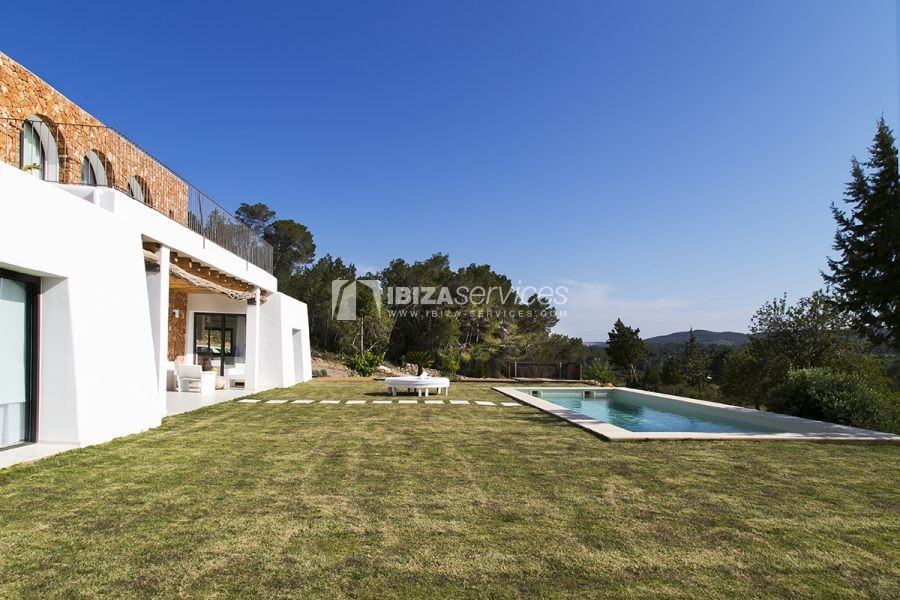 Brand new house near Sant Rafael for summer rent perspectiva 23