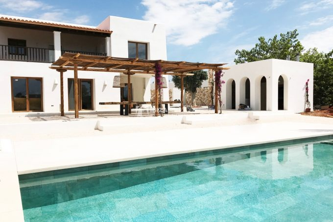Authentic Ibiza style Villa with views to Sa Caleta