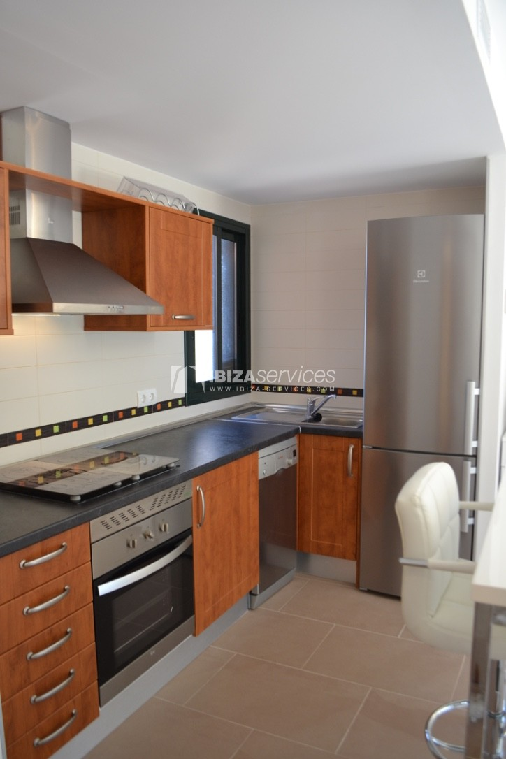 Townhouse Cala Tarida 3 bedrooms with sea views perspectiva 12