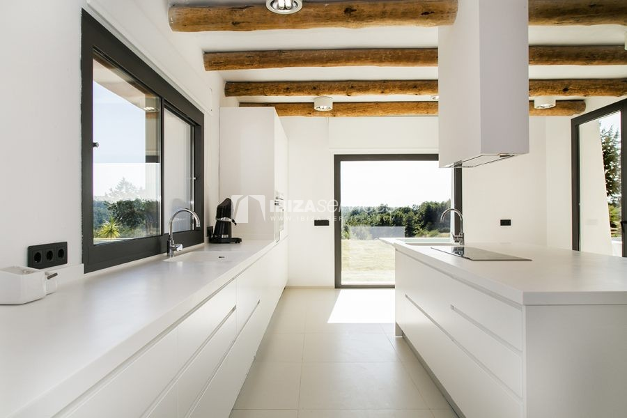 Brand new house near Sant Rafael for summer rent perspectiva 24