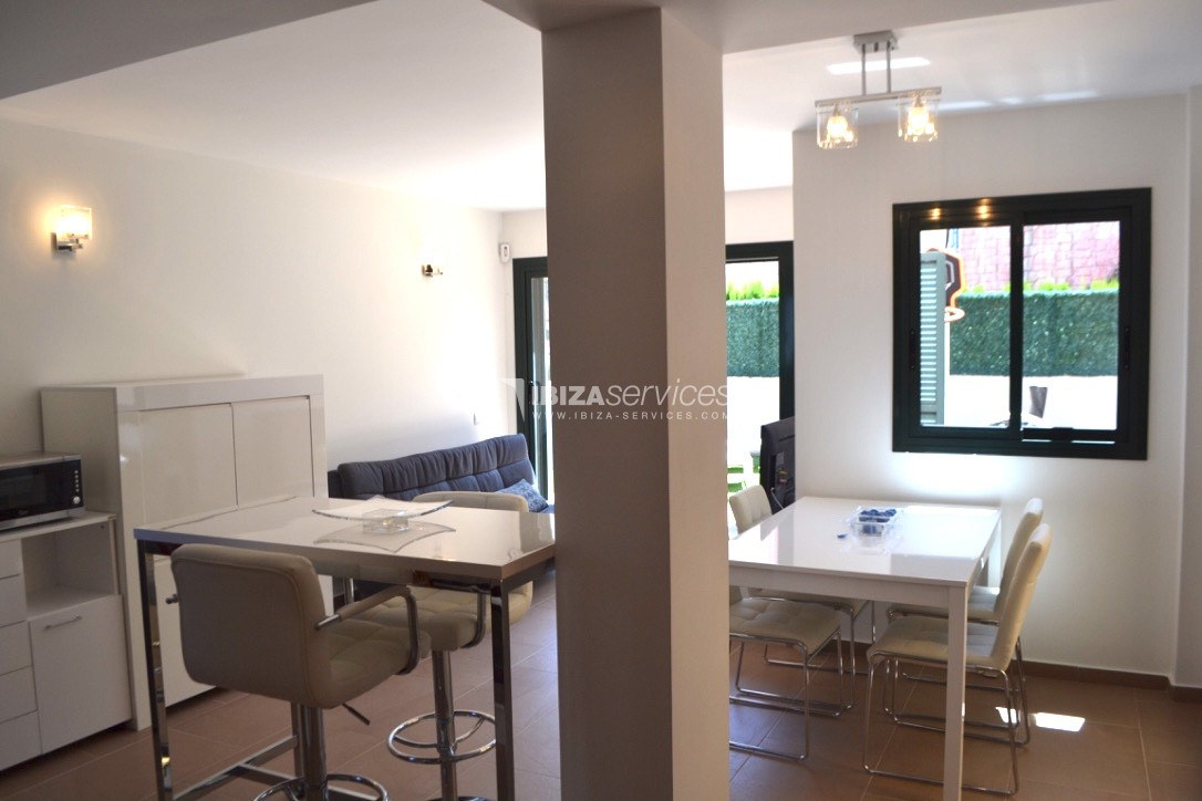 Townhouse Cala Tarida 3 bedrooms with sea views perspectiva 11