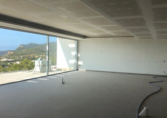 Modern house in construction for sale Es Cubells