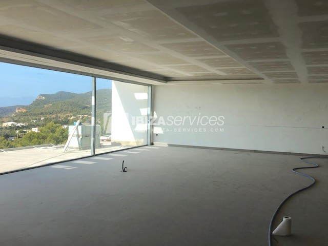 Modern house in construction for sale Es Cubells perspectiva 7