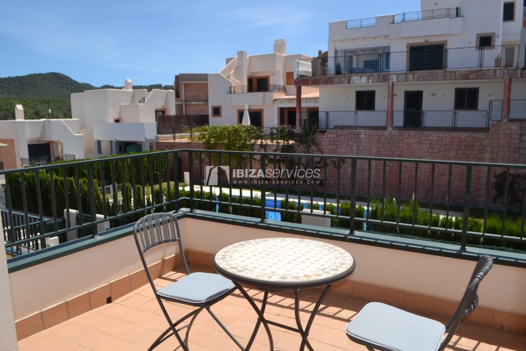 Townhouse Cala Tarida 3 bedrooms with sea views perspectiva 6
