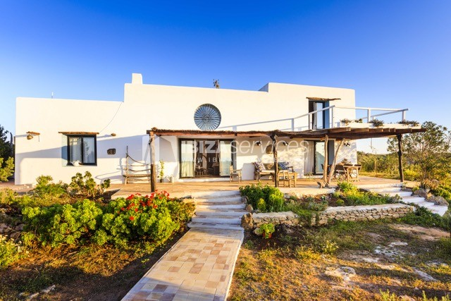Sea view villa Formentera for perfect holidays perspectiva 3