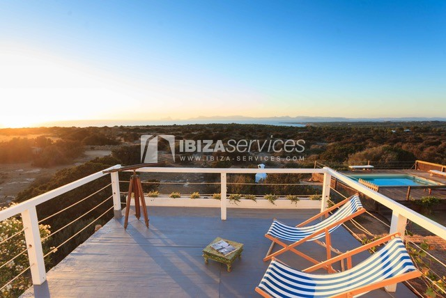 Sea view villa Formentera for perfect holidays perspectiva 41