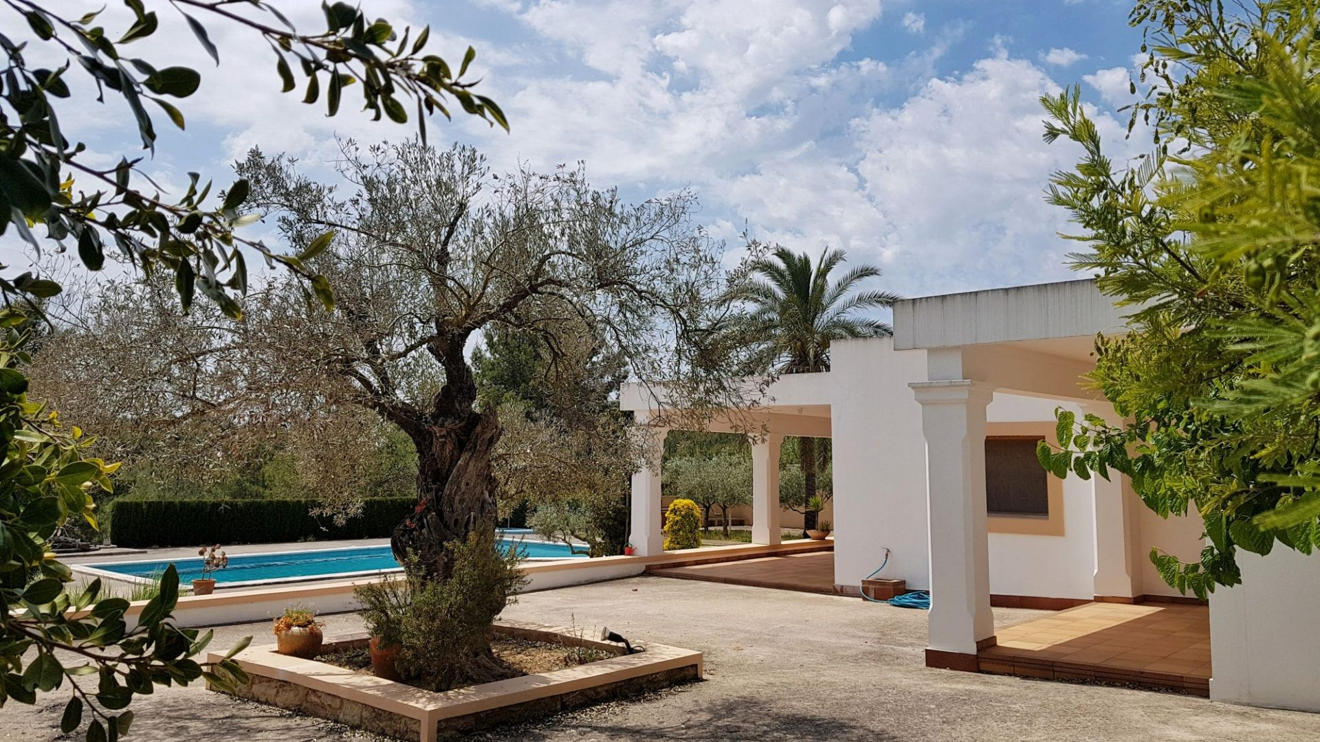 Ancient finca located in the heart of the village of St Gertrudis.