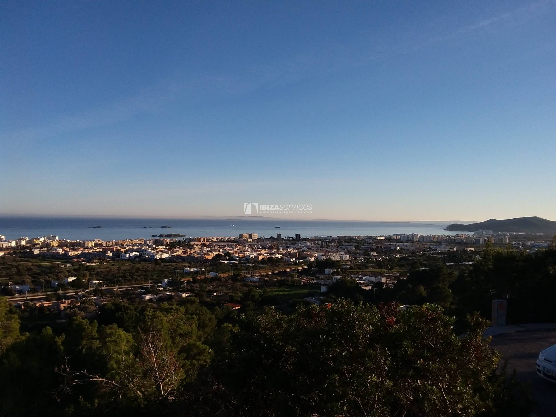 Buy building land Ibiza sea view with license perspectiva 2