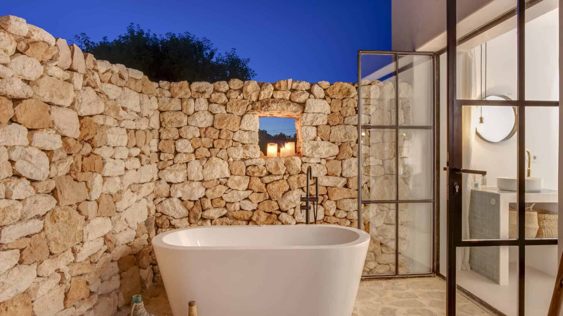 Authentic Ibiza style villa KM5 for 20 people groups
