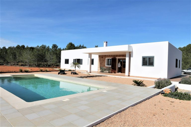 Long term rental brand new country house Ibiza