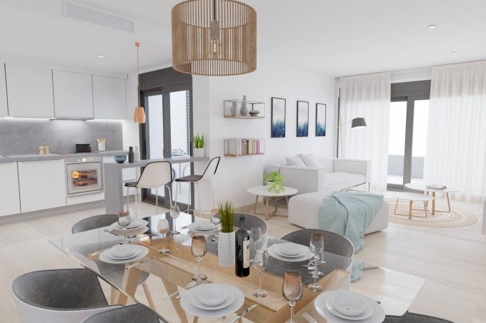 Long term & seasonal rent 2 bedroom apartments Es vive Ibiza