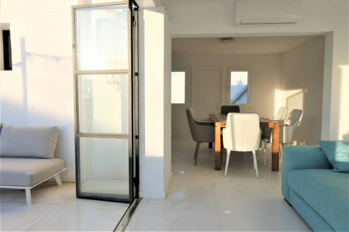 Annual rental 1 bedroom  penthouse in playa d'en bossa