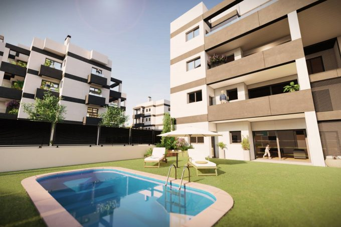 Long term rental annual and seasonal 3 bedroom apartments Es vive