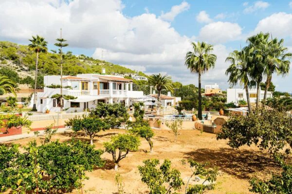 Large Family Finca near Ibiza centre with Sea Views