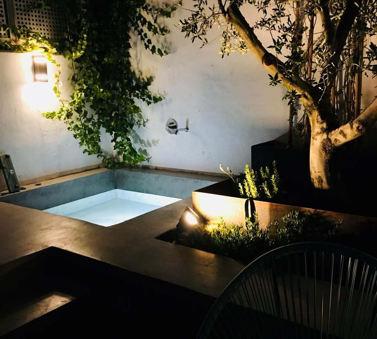 Yearly rental Ibiza town apartment with patio