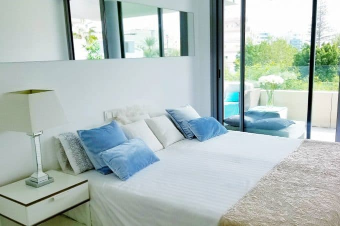 Buy a first floor 2 bedroom apartment at white Angel Ibiza