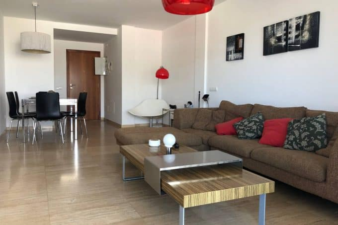 Building Nueva Ibiza 3bed apartment long term rental
