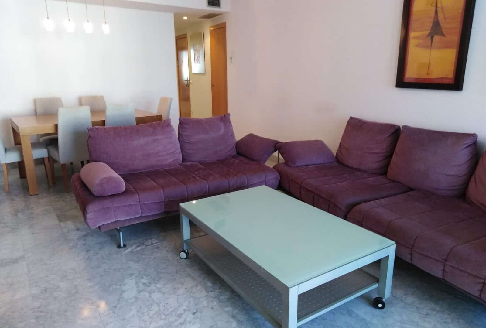 Two bedrooms apartment in Miramar luxury complex-Paseo Maritimo