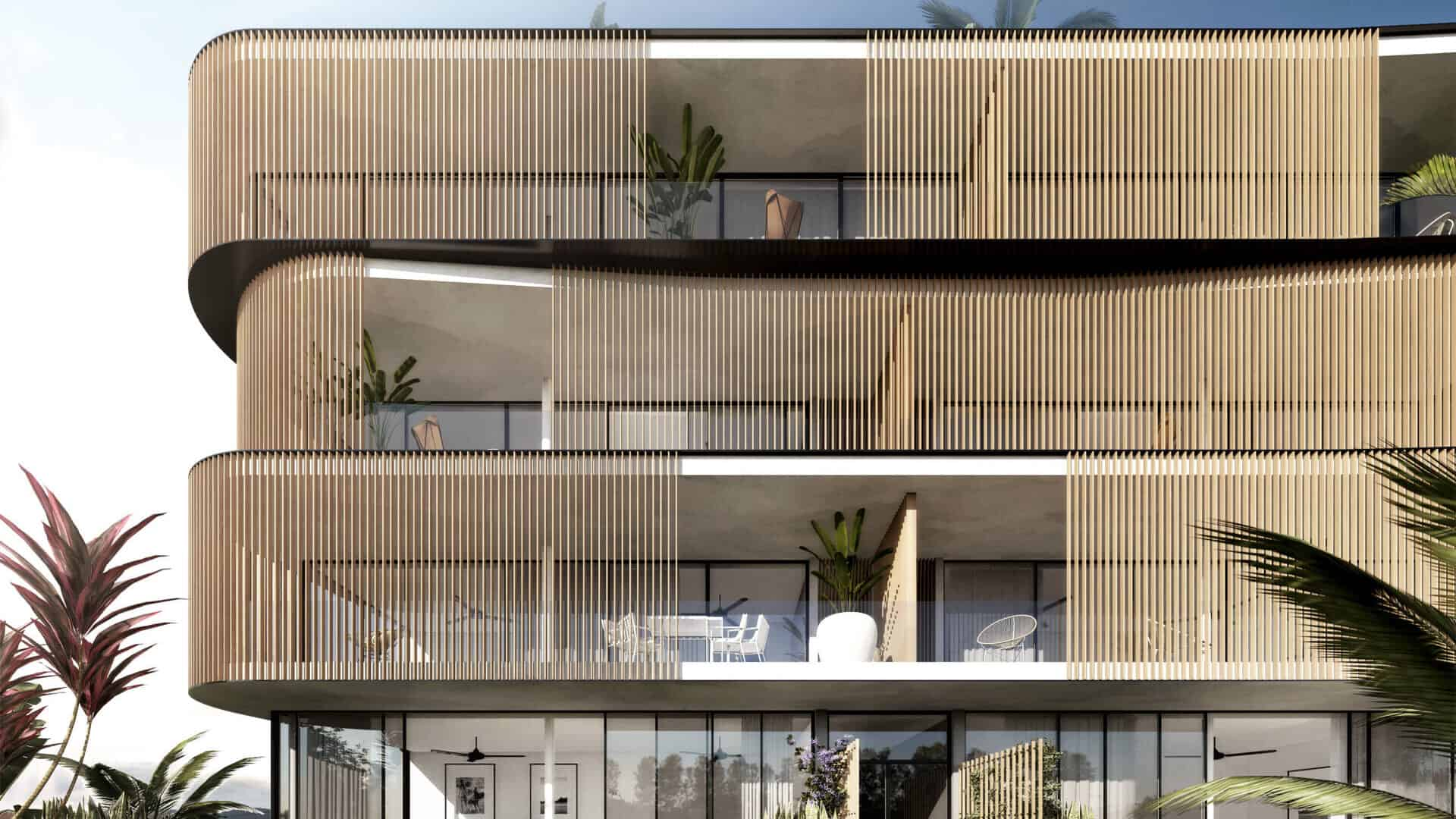 Buy new design ground floor apartment in Talamanca