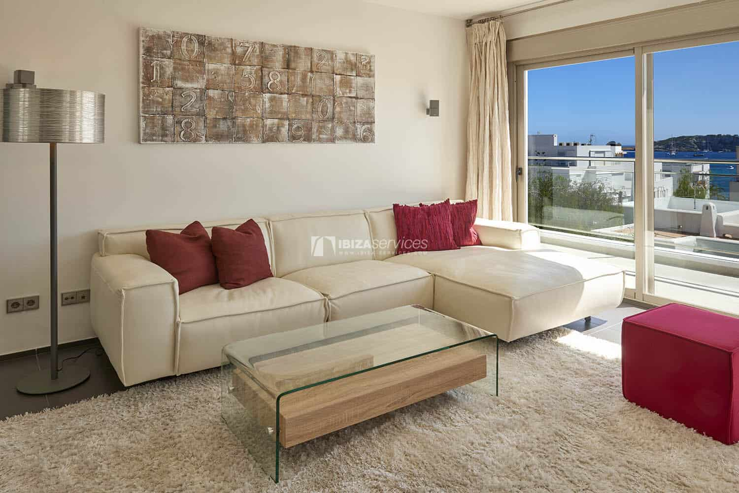 Luxury flat in Talamanca with great views and a large terrace