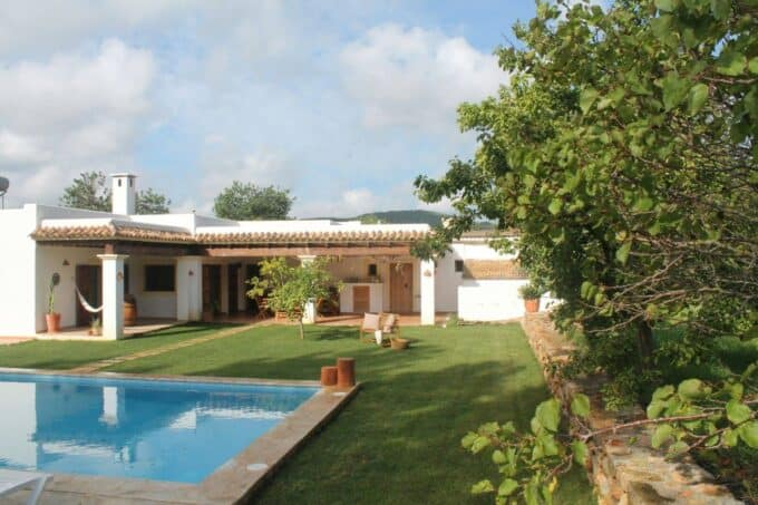 4 bedroom long term rental house with pool San Juan Ibiza