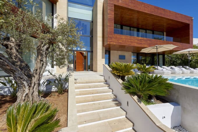 Talamanca super luxury contemporary designed villa with panoramic views