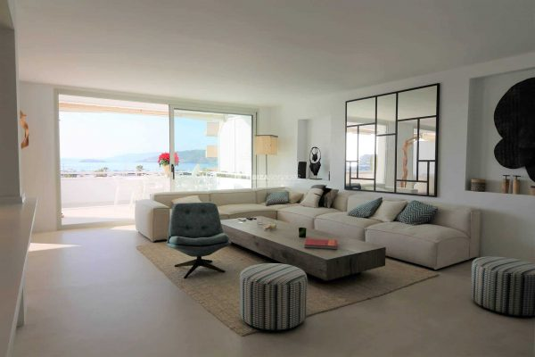Buy 3 bedroom apartment Terrazas de Ibiza vith an amazing sea view