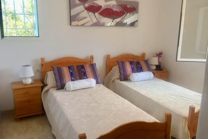 Peaceful Ibizan country house with touristic license for yearly rental
