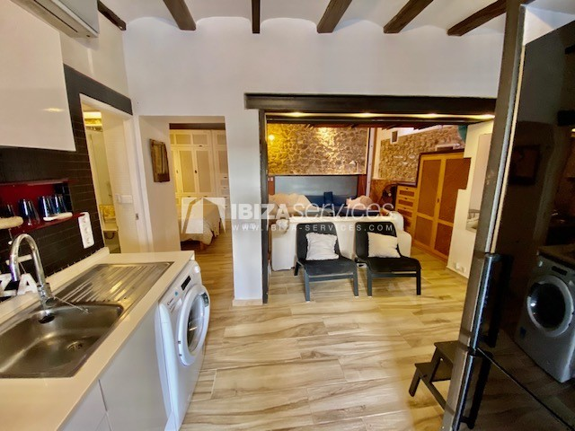 Opportunity! Charming apartment for  sale in the heart of Ibiza old town
