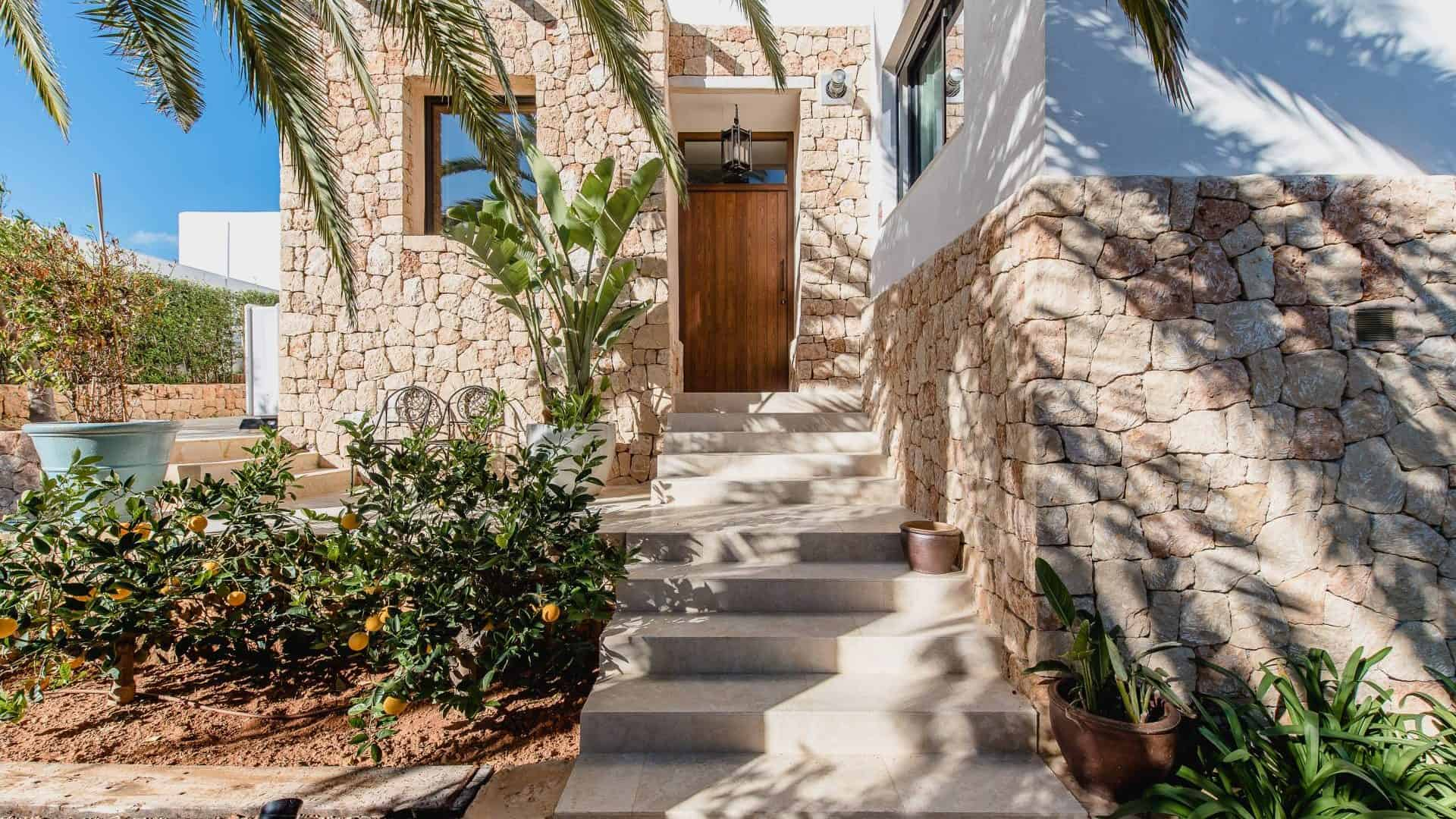 Buy new modern design villa in Talamanca decorated by Erc Kuster