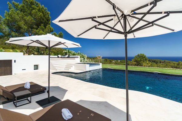 Luxury modern villa for rent Talamanca Ibiza