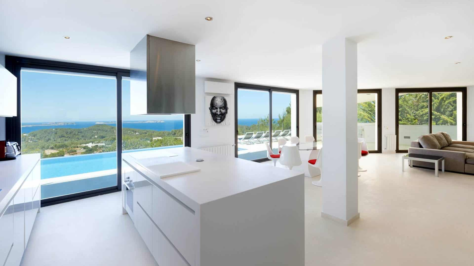 Cala Salada Luxury long term rental 5 bedroom villa