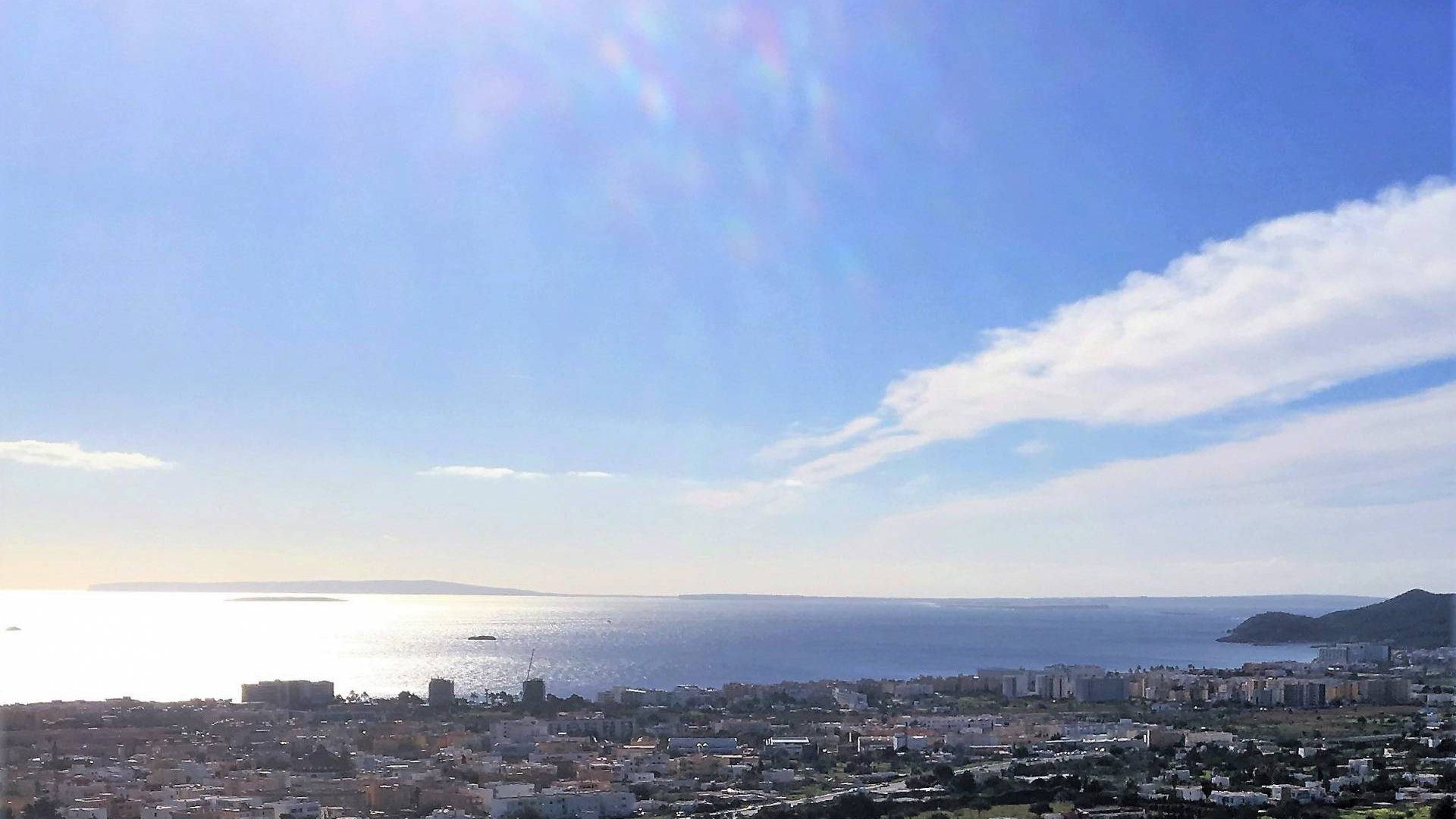 Ideal investor building land with real sea view for sale