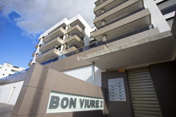 2.1.A  3 bedroom apartment rental  in Ibiza botafoch with huge  terrace