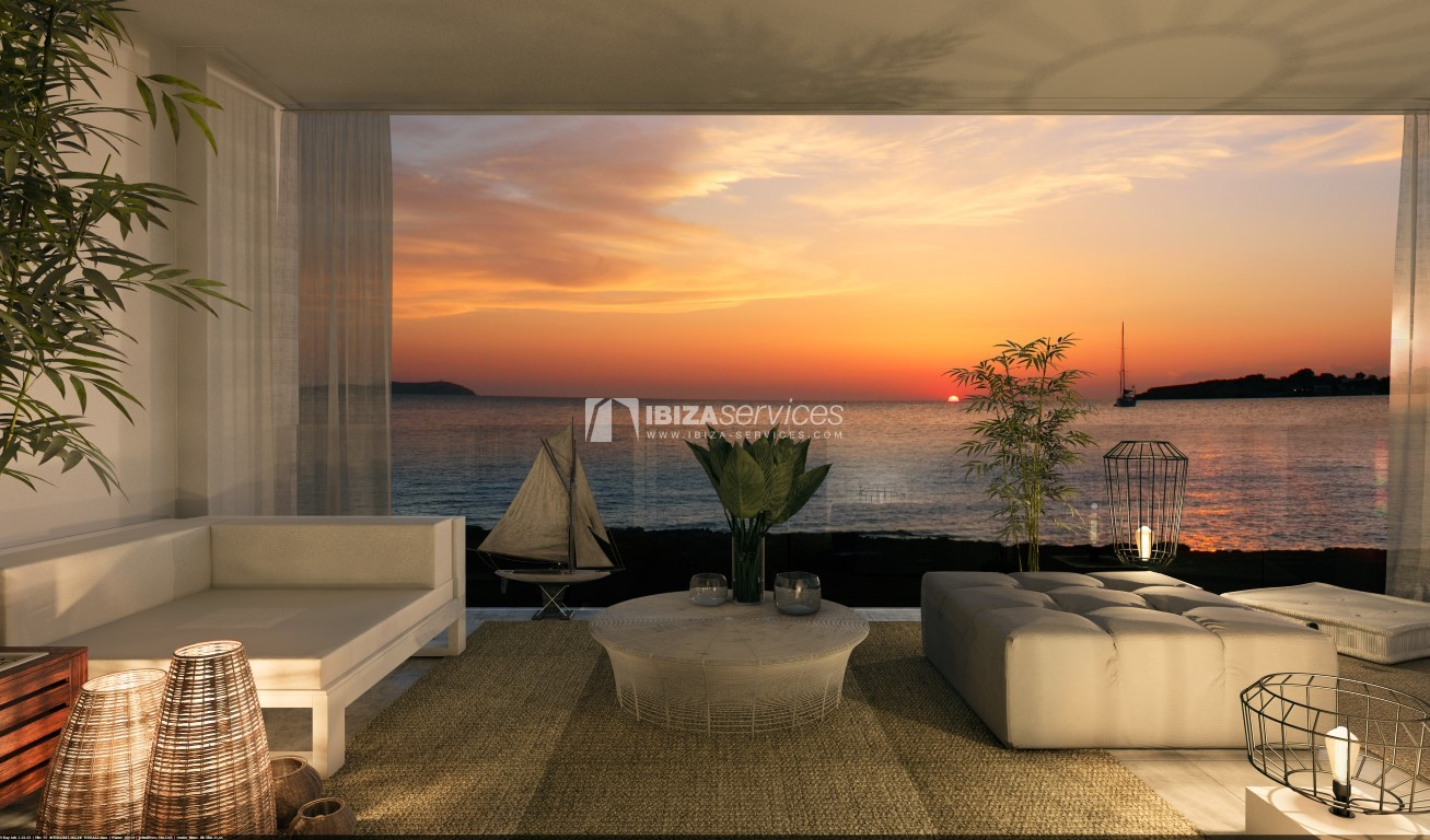 Seafront 3 bedroom apartments in a luxury complex for sale