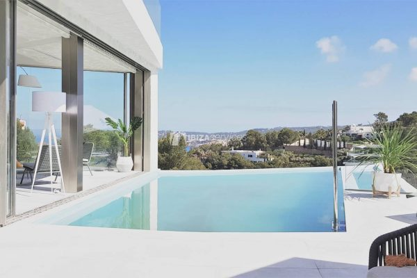 3 Exclusive luxury villas with 5 bedrooms sunset and sea views for sale