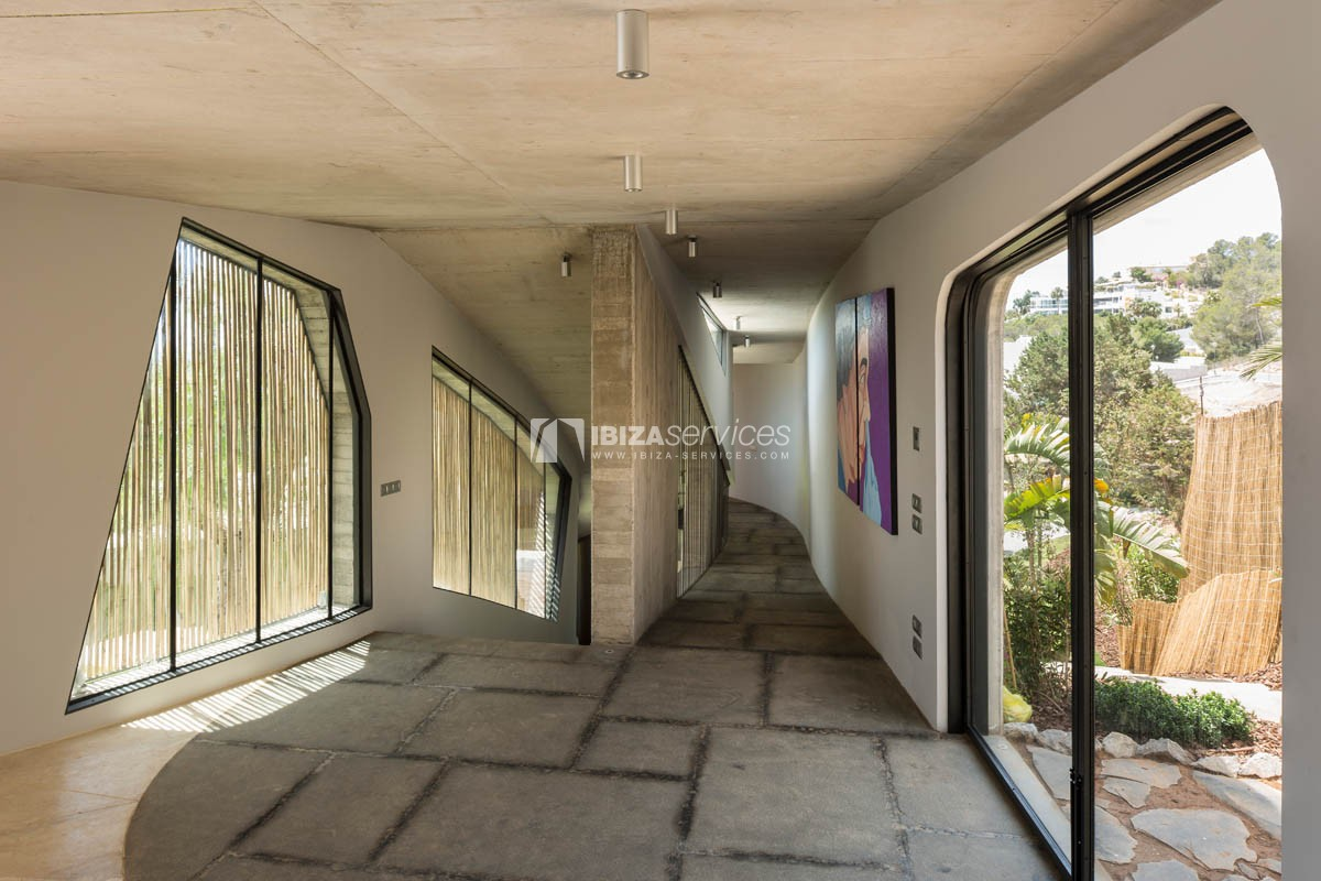 Amazing  design villa Es cubells for rent perspectiva 77