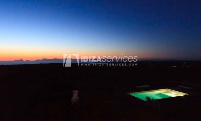 Sea view villa Formentera for perfect holidays perspectiva 43