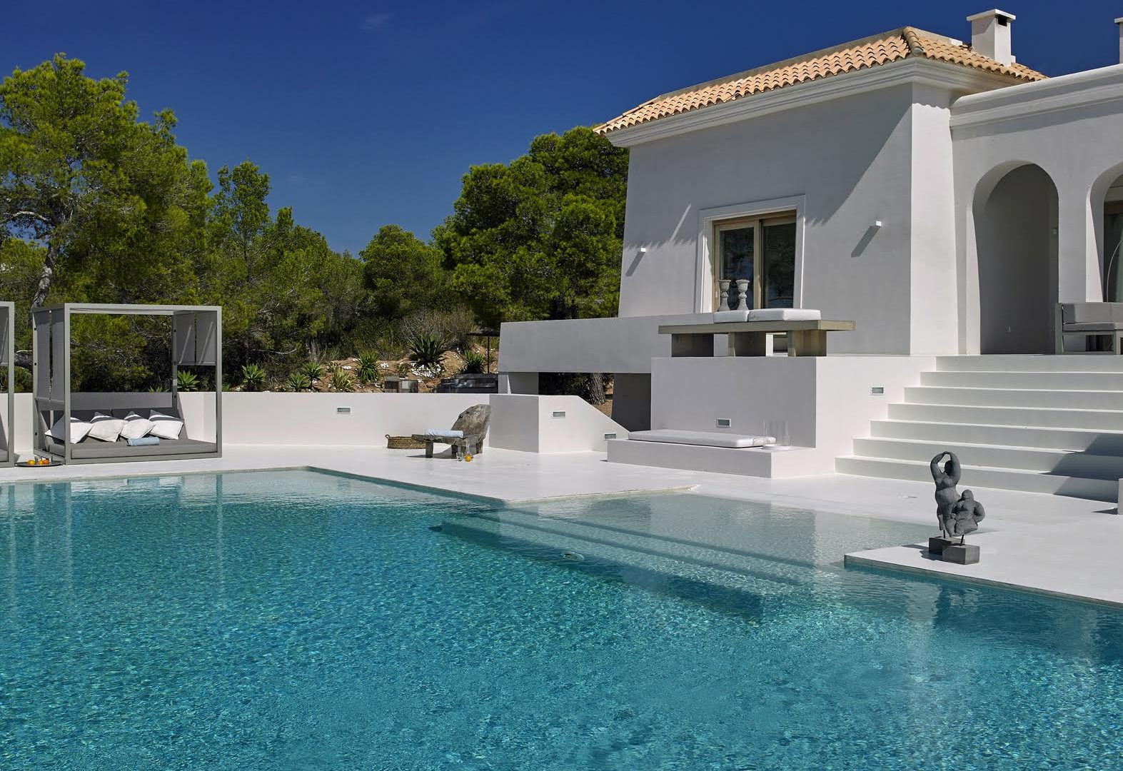 Beautiful villa with sunset views Cala Tarida