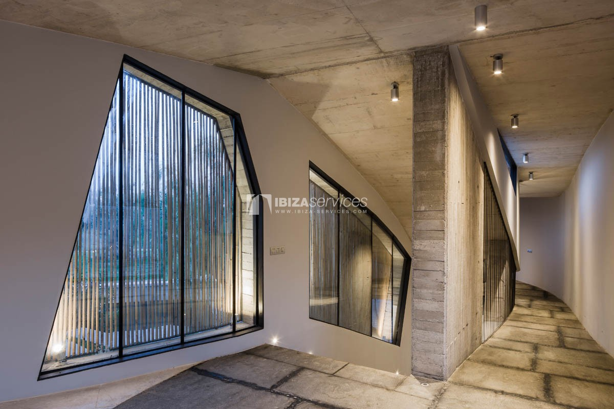 Amazing  design villa Es cubells for rent perspectiva 5