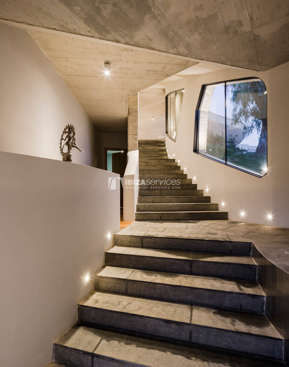 Amazing  design villa Es cubells for rent perspectiva 6