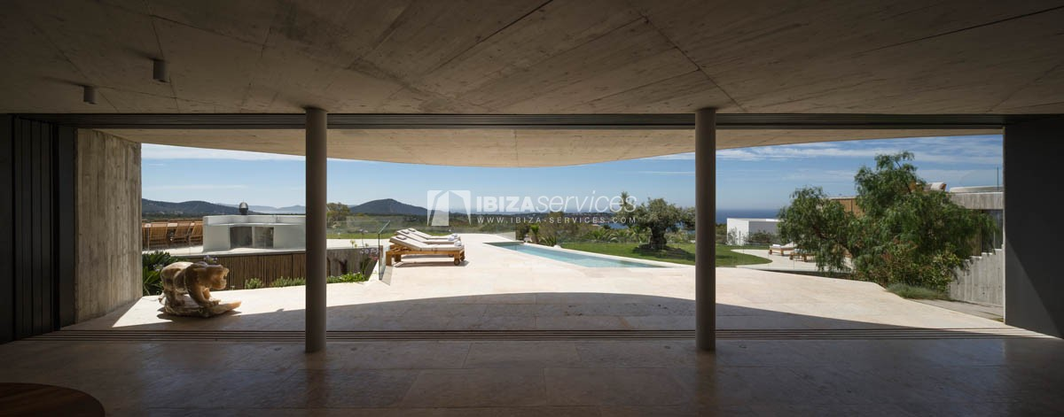 Amazing  design villa Es cubells for rent perspectiva 9