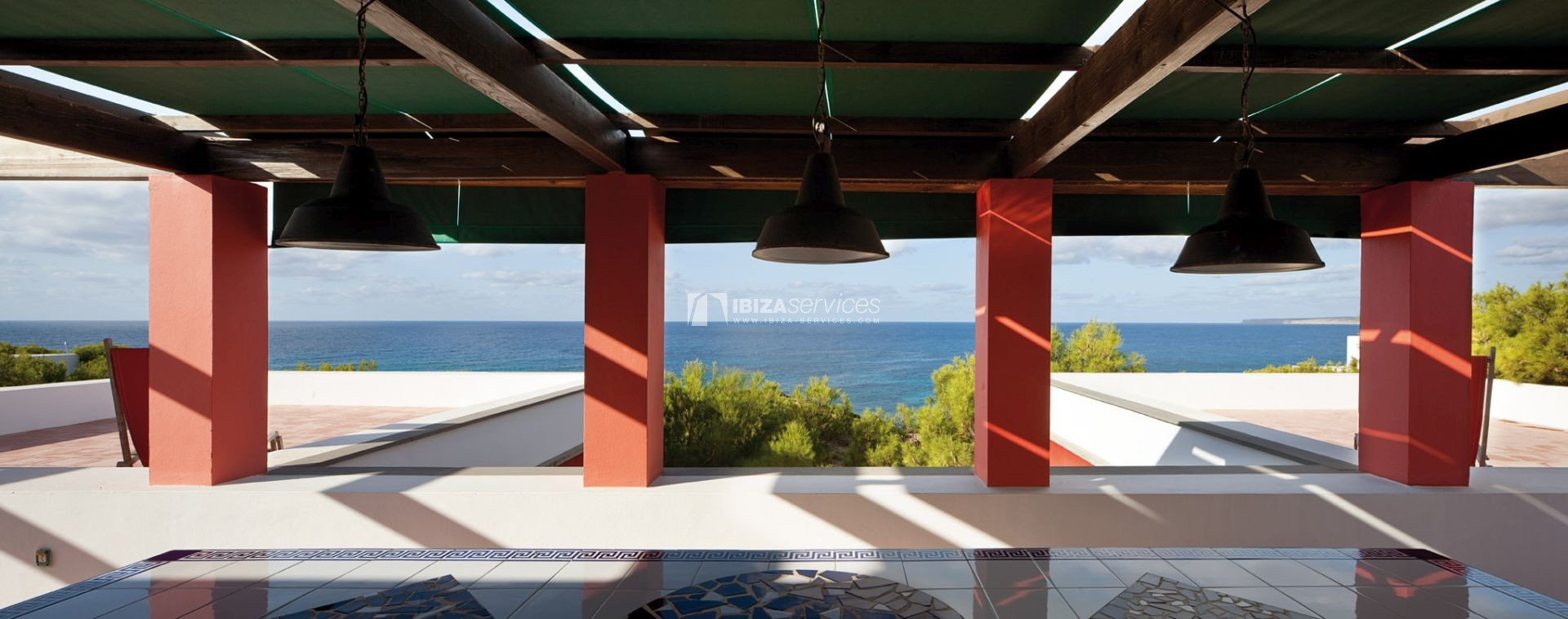 Villa for sale Formentera with amazing sea views perspectiva 34