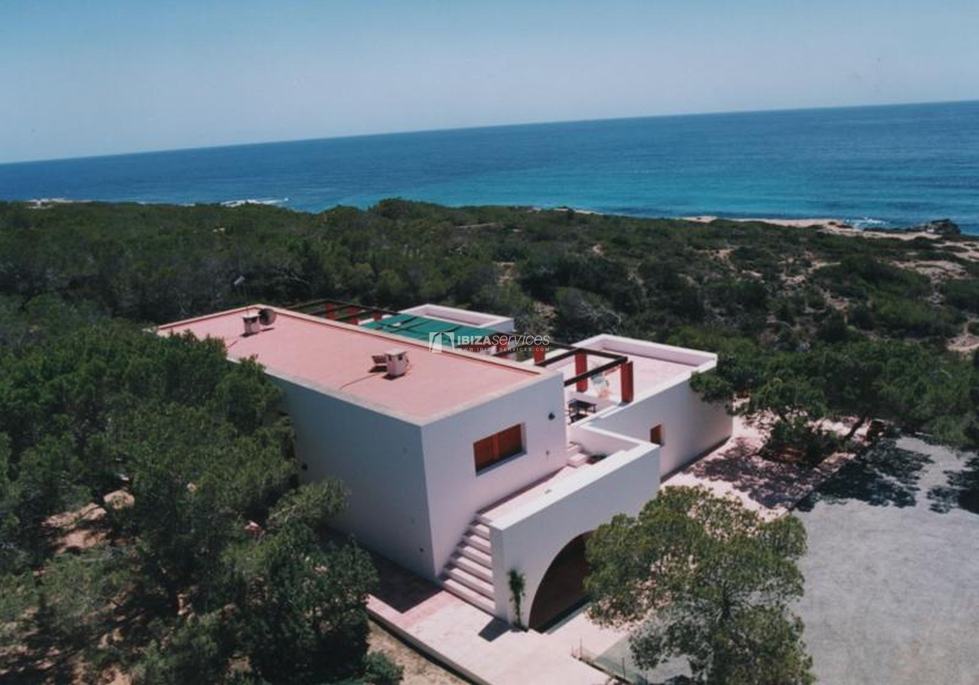 Villa for sale Formentera with amazing sea views perspectiva 3